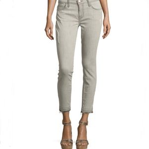 Current Elliot The stiletto raw hem skinny jean